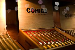 Cohiba Red Dot Corona Crystal - Box of 20