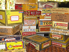 20 Empty Cigar Boxes