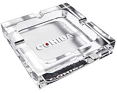 Classic Cohiba Crystal Ashtray