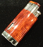 NEW!: Trimax Triple Flame Lighter - Mahogany Marble