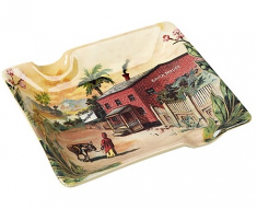 Brick House Ceramic Ashtray