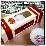 Cuban Romeo y Julieta Golf Balls - Box of 3