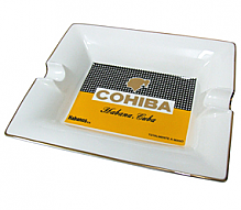 Habanos Cohiba 2 Cigar Ceramic Ashtray