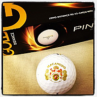 Macanudo Cafe Golf Balls - Box of 3
