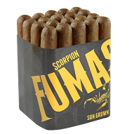 Camacho Scorpion Fumas, Sungrown Robusto - Bundle of 16