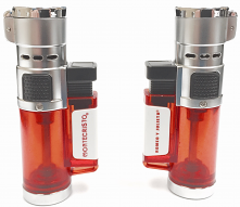 Montecristo Red Triple Flame Butane Lighter