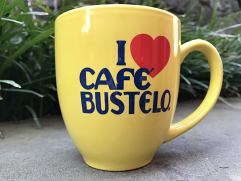 Bustelo Coffee Mug - Yellow