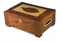 The Santa Barbara - 150 Capacity Humidor with Leaf Design