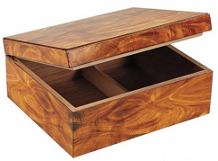 NEW!: Humidor Supreme 50 Cigar Capacity, Burl Finish
