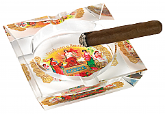 Habana Crystal 4 Cigar Ashtray
