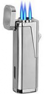 NEW!: Urbano Triple Flame Torch Lighter - Chrome