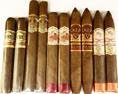 The Cigar Aficionado #1 in the World Sampler, 10 Cigars